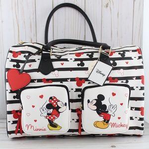 Mickey & Minnie Mouse Weekender Bag